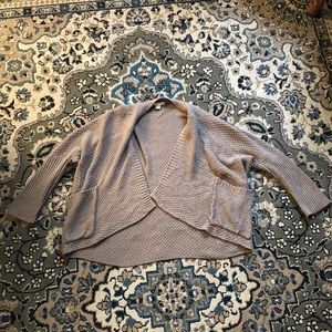 Love by Design Tan Open Front Cardigan size Large